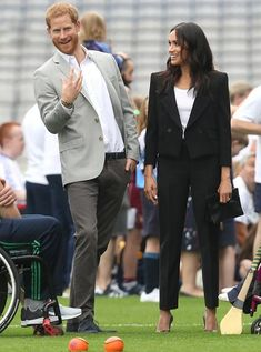 The Duke and Duchess of Sussex visited Croke Park museum