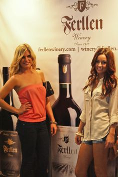 Thank you ladies for stopping by to support the unveiling of Ferllen Winery at the Miami Wine & Spirits Expo 2012.