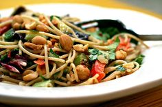 asian inspired noodles