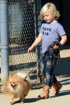 Zuma Rossdale - Son Of Gavin Rossdale in his @Judi Hayes Culture punk kid tee