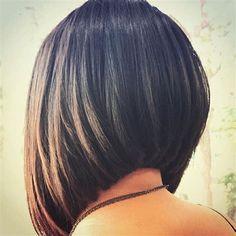 Cute Stacked Bob Haircuts Image