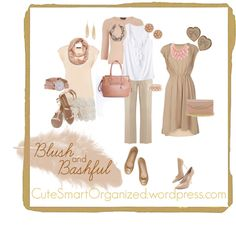 #Blush and Bashful #blush for spring from CuteSmartOrganized