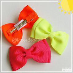 Cute Hairstyles For Cheer Simple Diy Ribbon, Ribbon Crafts, Ribbon Bows, Ribbons, Kids Hair Clips, Cheer Bows, Girl Hair Bows, Girls Hair Accessories, Cute Hairstyles