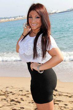 The Stir-'Jersey Shore' Star Deena Nicole's Shocking Slimdown Won't Last wow Damm Gorgeous Hot Yummy Ass Nicole Polizzi, Snooki, Short Models, Got The Look, How To Slim Down, Celebs, Celebrities, Beautiful People, Celebrity