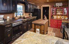 western kitchen | Rustic Western Kitchen