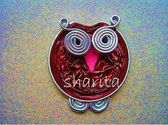 OTRO BROCHE MUY SENCILLO: BÚHO NESPRESSO / Another very simple brooch: nespresso owl