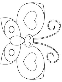 Butterflies 6 Animals Coloring Pages