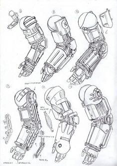 Power armor arms 6