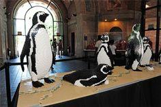 Lego penguins? My kind of art :)