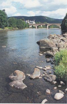 The River Dee, Ballater Scotland
