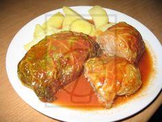 Finom, zamatos, töltött kelkáposztalevelek. Pork, Beef, Kale Stir Fry, Meat, Pork Chops, Steak