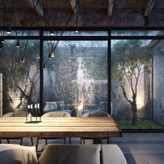 """I love internal courtyards. DA House by Igor Sirotov Architects. Source @homedsgn"