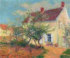 Gustave Loiseau  House in the Country