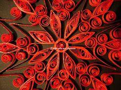 spazio alla mia fantasia: snowflake rossa