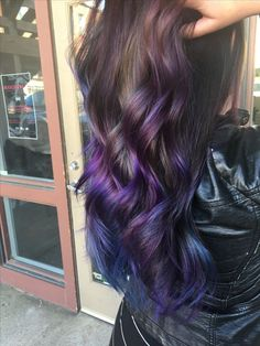 Image result for blue and purple mermaid hair