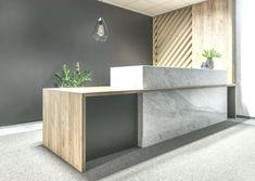 Galerie der Büroräume in Poznan / Architekci AREA 13 Corporate Office Design, Medical Office Design, Healthcare Design, Reception Desk Design, Reception Counter, Office Reception, Reception Table, Bureau Design, Workspace Design