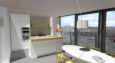 Martijne Interieur - Interior design for a new appartment with a stunning view in Rotterdam