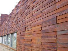 weathered steel cladding cnc - Google Search