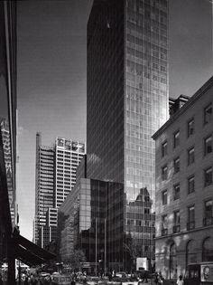 Modern Architecture New York City 1958 - corning glass works - new york city, ny | international mid