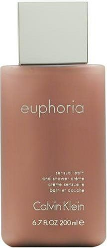 Euphoria by Calvin Klein for Women, Bath and Shower Crème, 6.7 Ounce by Calvin Klein. $22.57. Packaging for this product may vary from that shown in the image above. Launched by the design house of Calvin Klein in 2005, EUPHORIA is a women's fragrance that possesses a blend of black violet, pomegranate, black orchid, mahogany wood, persimmon, and lotus blossom.  It is recommended for romantic wear.Whenapplyingany fragrance please consider that there are several facto...