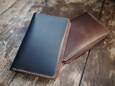 Field Wallet by Hollows Leather.
