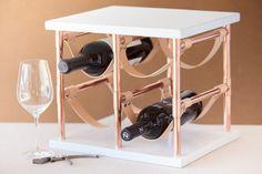 Estante de vino Paul McCobb | 19 Elementos decorativos DIY estilo mid-century que te ahorrarán un montón de dinero