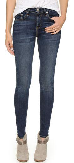 84cfde0eeea8a Rag   Bone JEAN The High Rise Skinny Jeans
