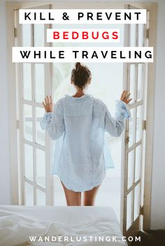 Tips on how to prevent & kill bed bugs and sand fleas while traveling. Have bed bugs from your hostel/hotel? Stop the itch & kill them on vacation!