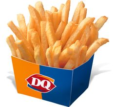 Try the Kids' Fries or any of Dairy Queen other delicious recipes at your neighborhood. Pyjama-party Essen, Dairy Queen Blizzard, Mcdonald French Fries, Queens Food, Hello Kitty Photos, Sleepover Food, Pregnancy Cravings, American Food, Food Menu