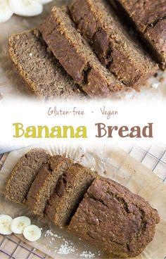 Gluten-free Vegan Banana Bread Recipe - absolutely delicious