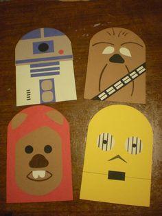 Star Wars door decs