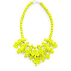 Ek Thongprasert X Natasha Goldenberg Neon Aziza Necklace ($370) via Polyvore