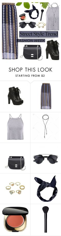 """DressLily - Lace It Up"" by dora04 ❤ liked on Polyvore featuring Boohoo, Dolce&Gabbana, NARS Cosmetics and dresslily"
