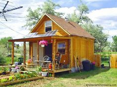 How to build a 400 sq ft cabin