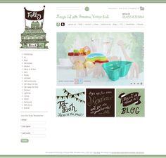 Lovely web design for Folly