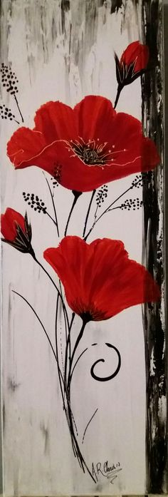 Acrylic painting on canvas Painted by RAFFIN CHRISTINE – # – Hobbies paining body for kids and adult Love Painting, Acrylic Painting Canvas, Fabric Painting, Painting & Drawing, Watercolor Paintings, Canvas Art, Painting Abstract, Art Sur Toile, Arte Floral