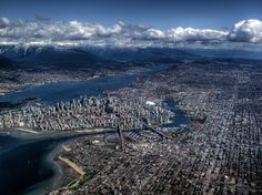 The Most Astounding Aerial Photography Ever Seen Vancouver, Canada.