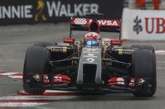 Romain Grosjean, Lotus, Monte-Carlo, Monaco Grand Prix, 2014