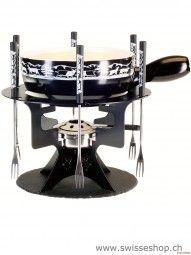 Käsefondue Set / Cheese Fondue Set / A nice set of genuine Swiss lovers who like to eat fondue .