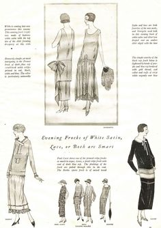 what-i-found: Flapper Era Outfits - 1924 Good Housekeeping