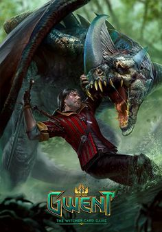 Eskel Gwent Card - makes me think an Eskel game would be amazing (Eskel for…