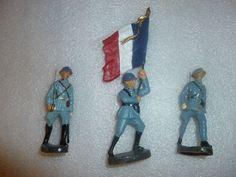 3 französiche Offiziere der 7,5cm Serie | eBay