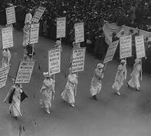 Image result for woman suffrage parade 1913