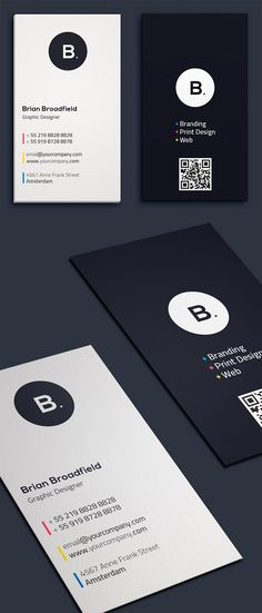 Simple minimal business card templates perfect for personal identity or minimalist design business. The clean minimal business card designs crafted with high Business Cards Layout, Professional Business Card Design, Business Card Psd, Minimalist Business Cards, Modern Business Cards, Business Card Templates, Creative Business Cards, Black Business Card, Ppt Design