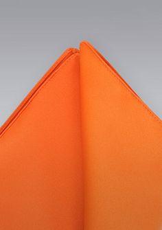 Einstecktuch orange
