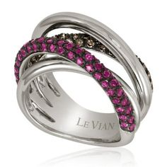 this LeVian chocolate diamond ring.