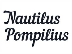 Nautilus Pompilius is a free Latin and Cyrillic handwriting font by PUNK YOU BRANDS.