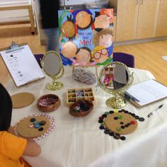 Reggio Emilia inspired self-portraits with cork boards. Kindergarten Inquiry, Inquiry Based Learning, Early Learning, Preschool Activities, Literacy, All About Me Activities Eyfs, Kindergarten Self Portraits, All About Me Preschool Theme, Work Activities