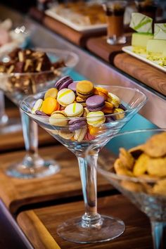 Mini sweets in glass at Hilton Dubai The Walk