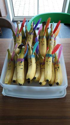 Bananen indianen traktatie